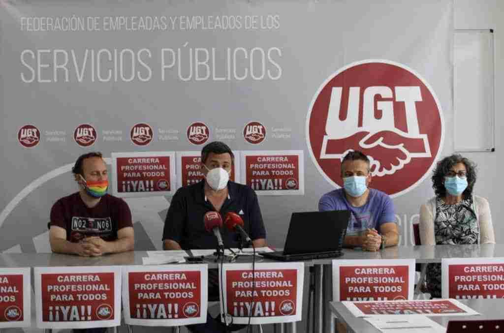 UGT CLM criticó la falta de voluntad del Gobierno regional para seguir con la mejora de condiciones laborales de los profesionales de Sanidad 1