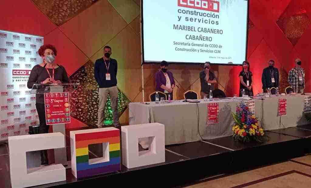 Maribel Cabañero es la nueva secretaria general de CCOO-Construcción y Servicios CLM 1