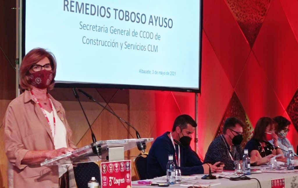 Maribel Cabañero es la nueva secretaria general de CCOO-Construcción y Servicios CLM 4