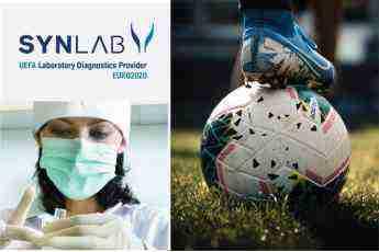 SYNLAB seguirá realizando pruebas COVID-19 en los partidos de competición de la UEFA y en la UEFA EURO 2020 3