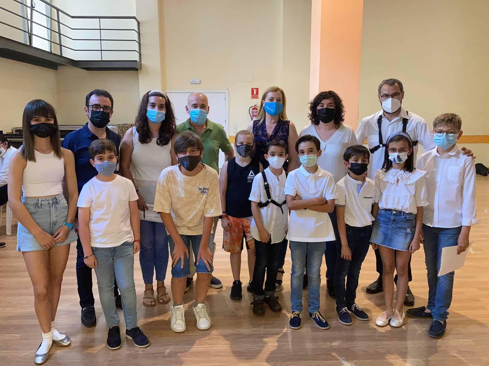 Los concejales del PP de Alcázar reconocen la iniciativa cultural, musical y artística en valores 5