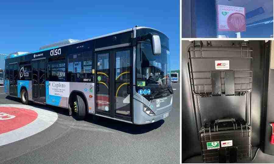 Gracias al conductor y el desfibrilador de un autobús de ALSA, un varón de 48 años salvó su vida en Galicia 16