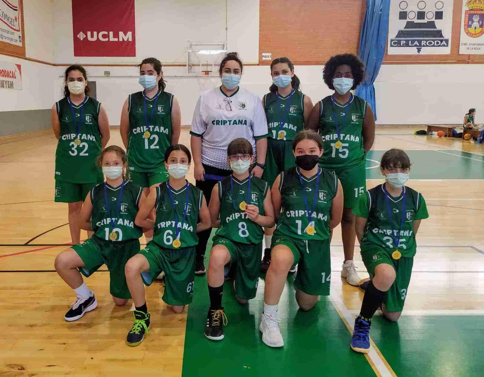 Los equipos cadetes masculino y femenino de Campo de Criptana se proclaman campeones de baloncesto de Castilla La Mancha 7