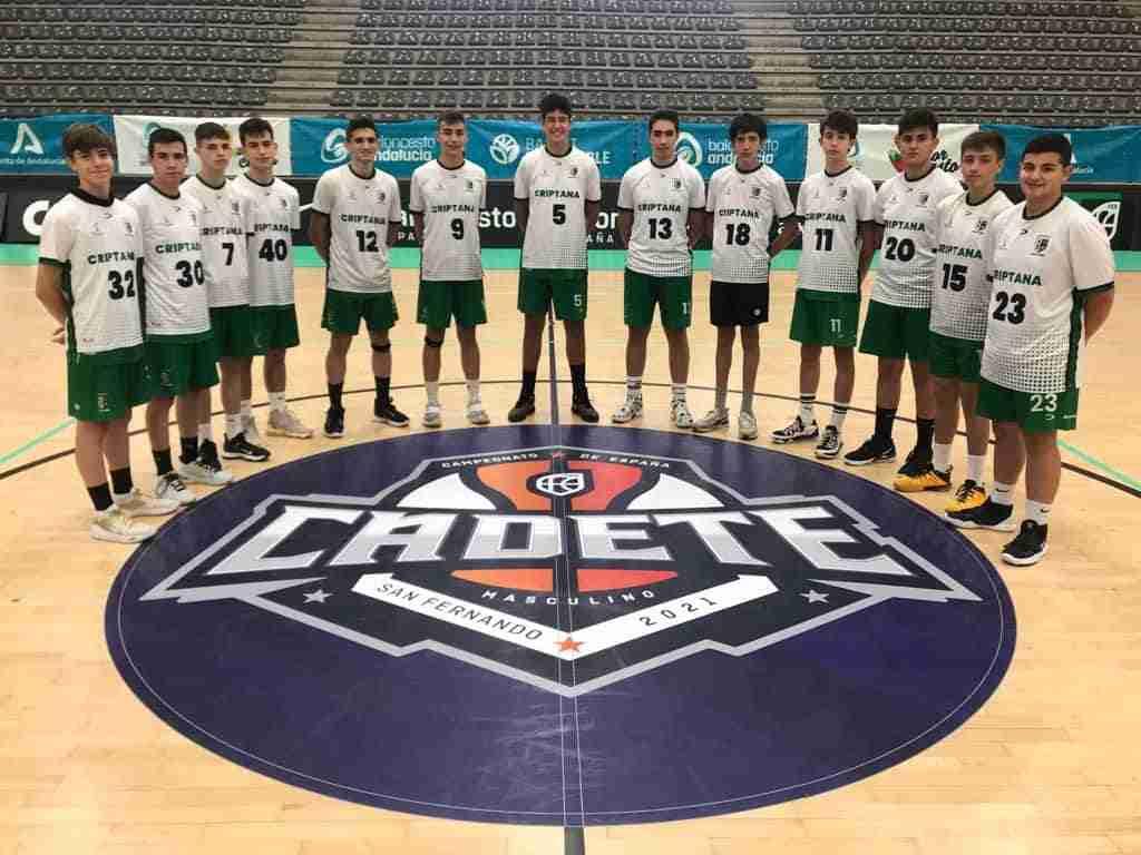 Los dos equipos cadetes del Baloncesto Criptana participaron en los campeonatos de España 5