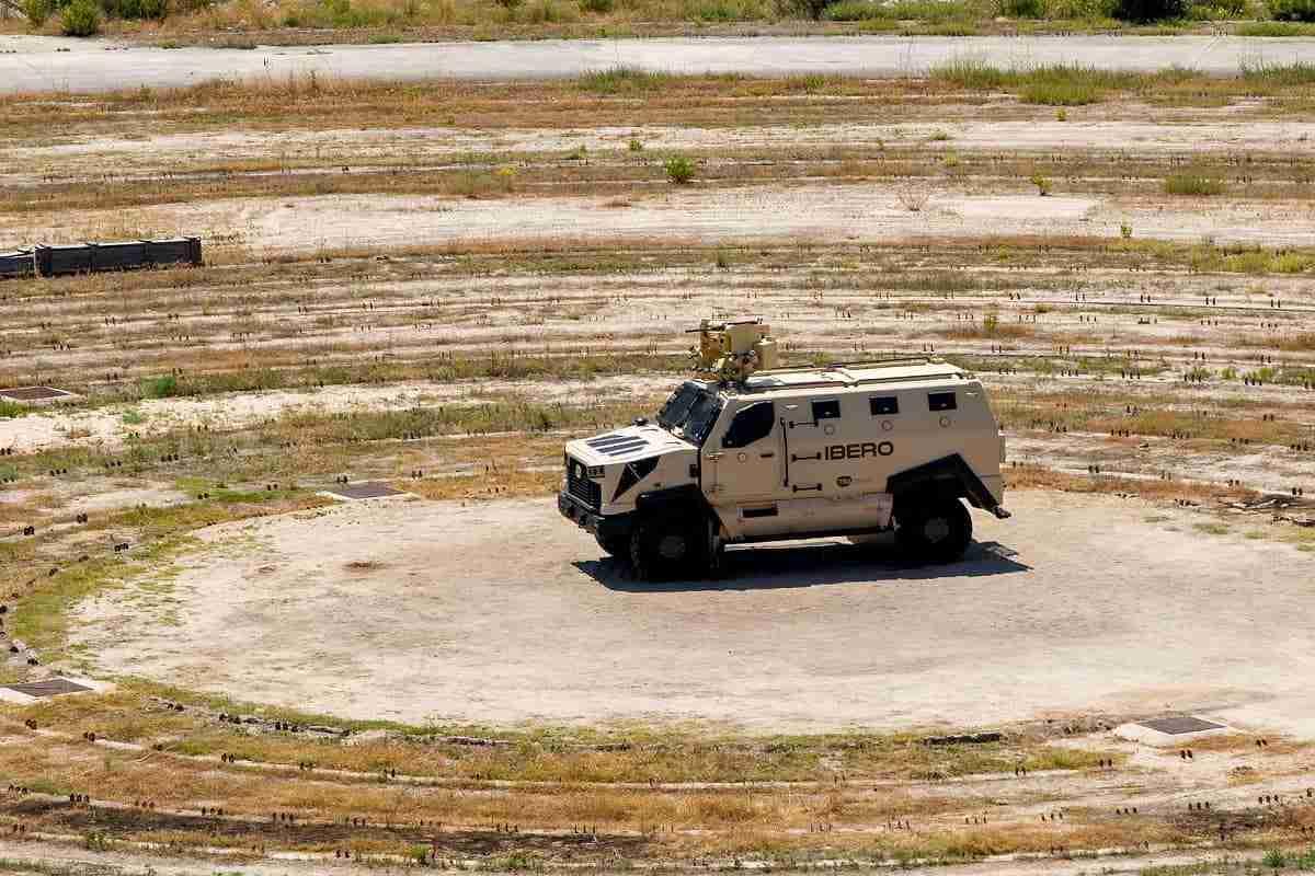 El Íbero de TSD consigue una nueva certificación en prueba de supervivencia contra mina 3