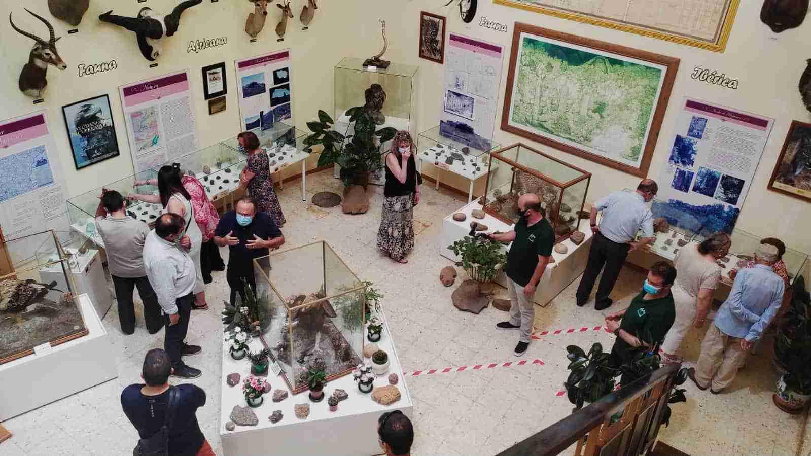 El Museo AVAN de Viso del Marqués acoge desde hoy 200 minerales más a su colección 3