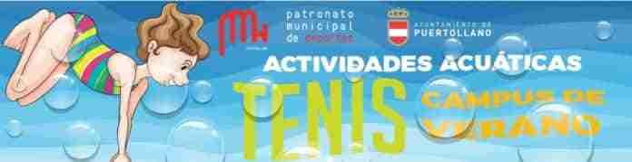 abiertas inscripciones natacion tenis puertollano verano