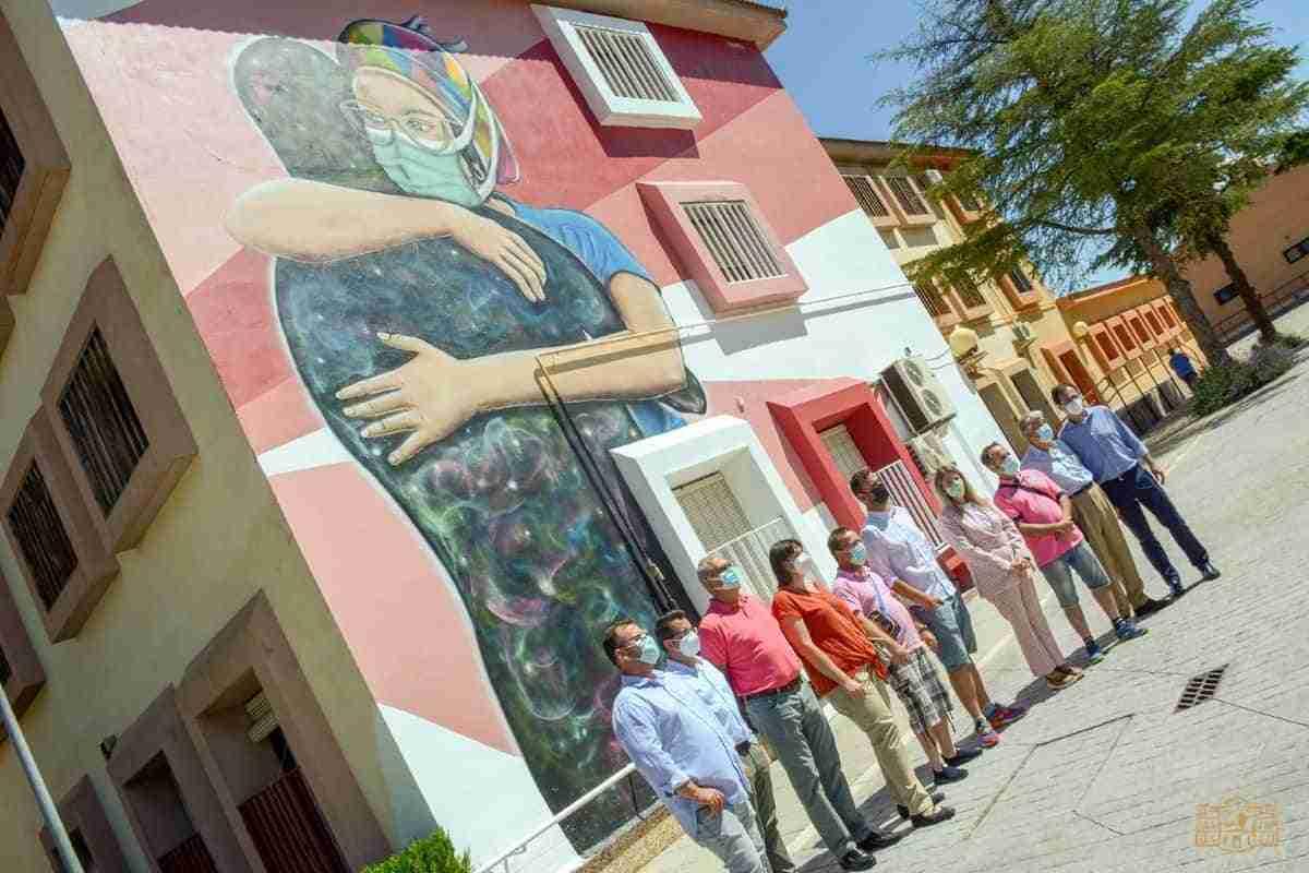 alcaldesa de tomelloso visita proyecto de afas