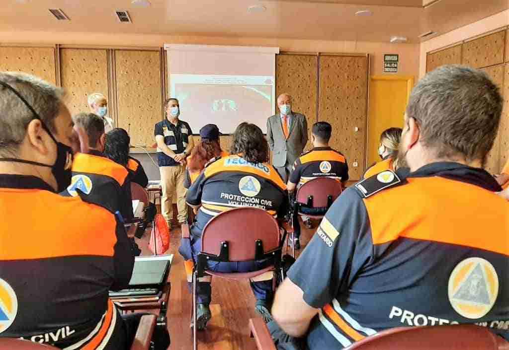 Una veintena de voluntarios de Protección Civil participan en un curso de apoyo logístico programado por el Gobierno de Castilla-La Mancha 1