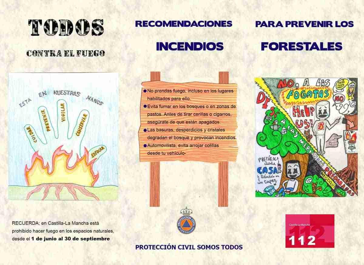 campana incendios forestales puertollano