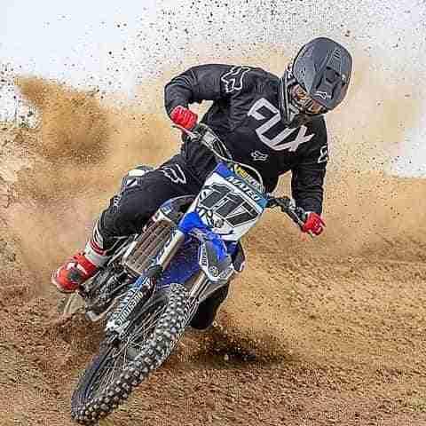 El quintanareño Mateo Moreno consiguió la segunda posición en el Campeonato Manchego de Motocross 3