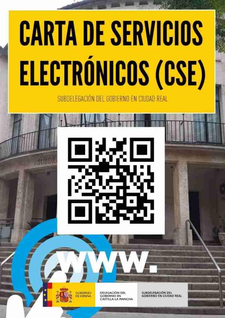 Gracias a la Carta de Servicios Electrónicos de la Subdelegación del Gobierno en Ciudad Real, el ciudadano tendrá más fácil comunicación con la Administración 1