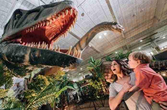 dinosaurs tour en puertollano