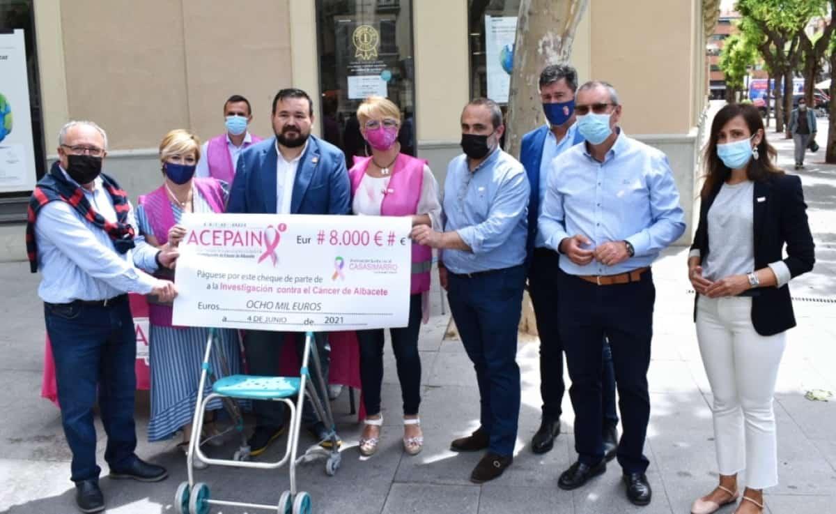 donativo diputacion albacete a acepain