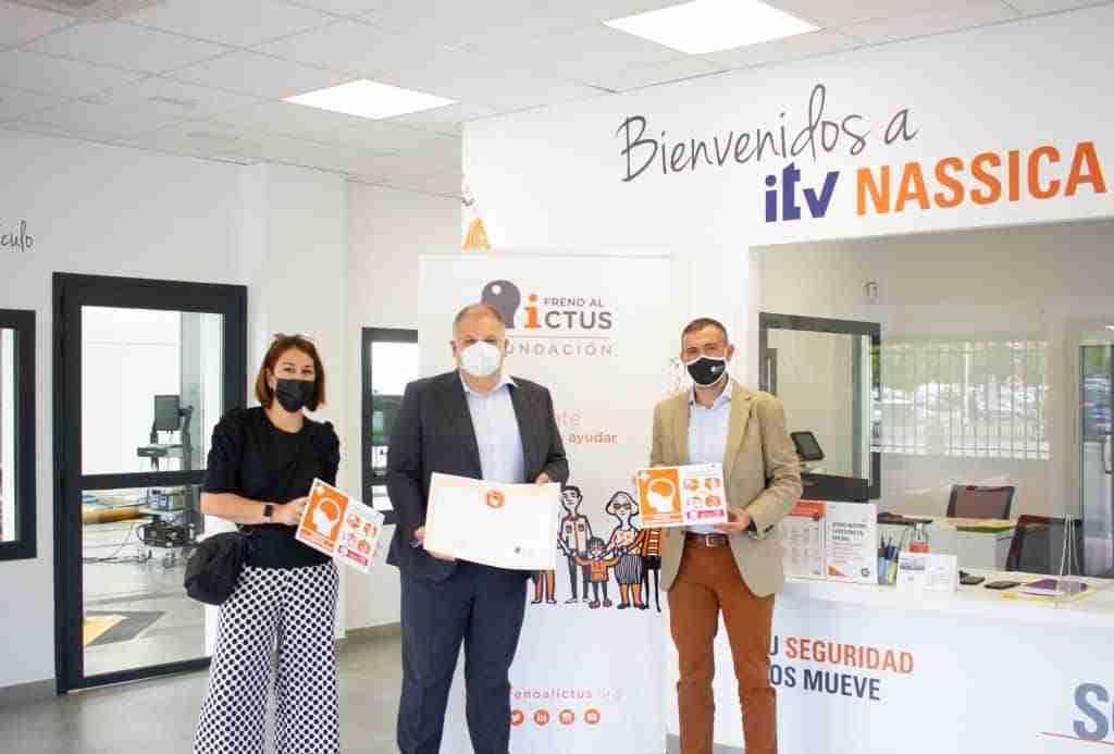 Las estaciones de ITV del grupo SGS en Albacete recibieron la certificación de Espacio Cerebroprotegido 1