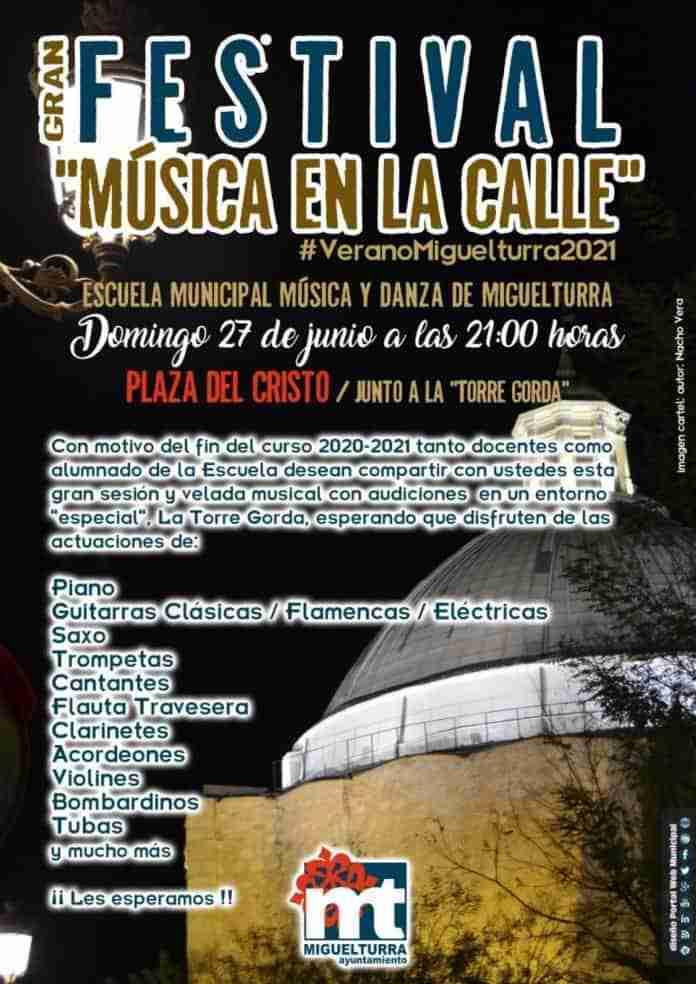 gran festival musica en la calle miguelturra