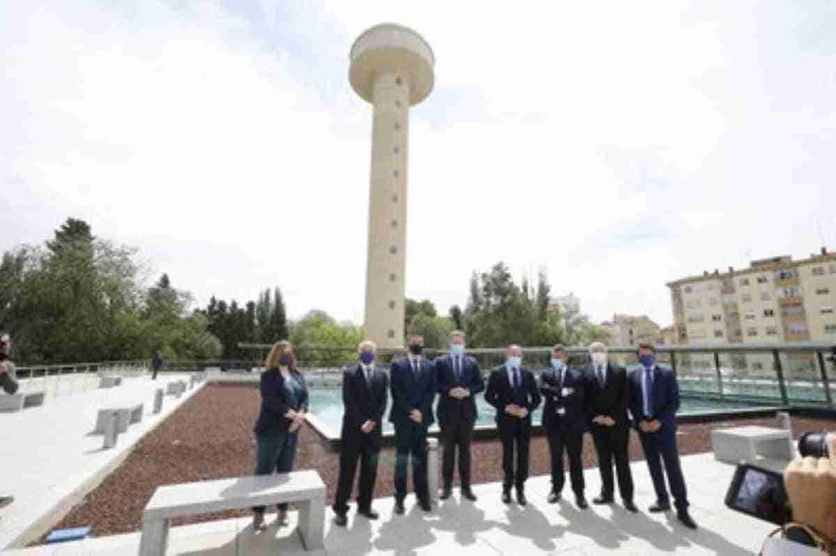 inauguracion centro de interpretacion del agua de albacete