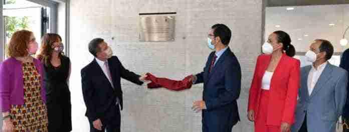 inaugurado el atrio del recinto ferial de ciudad real