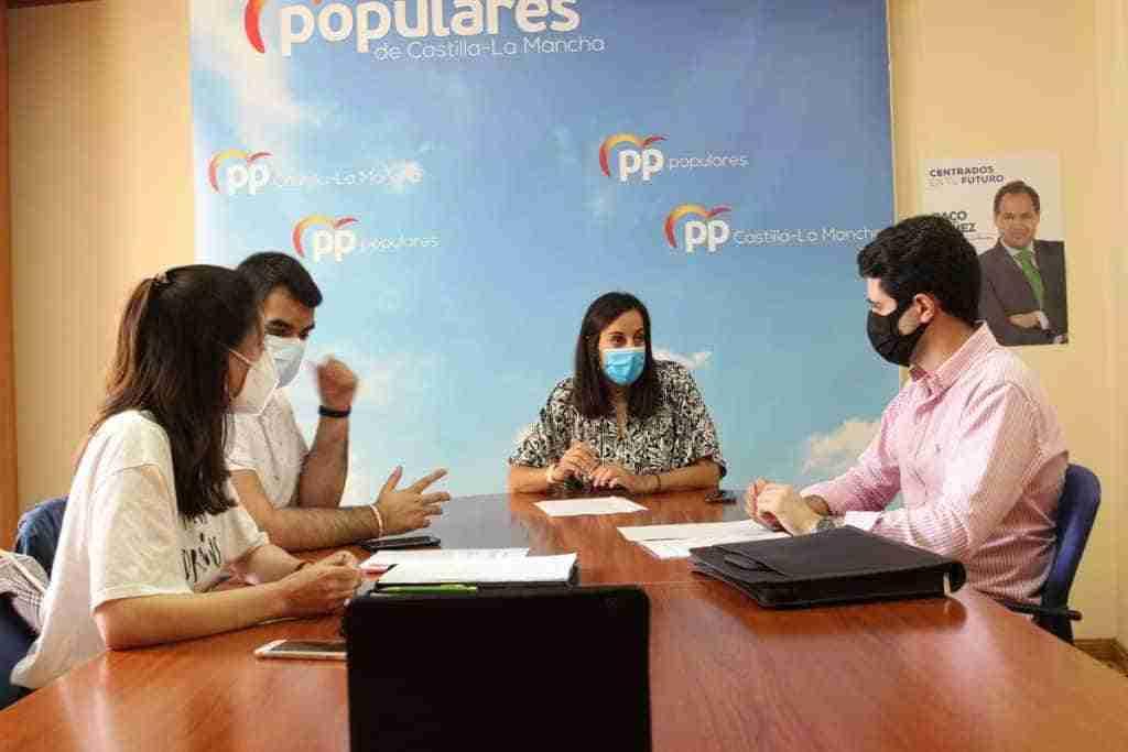 La Plataforma de la Juventud C-LM solicita al Pleno de las Cortes de Castilla-La Mancha crear un espacio para la juventud regional 1