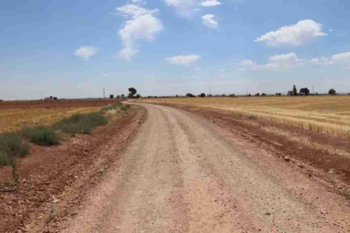 mejora de caminos rurales en manzanares