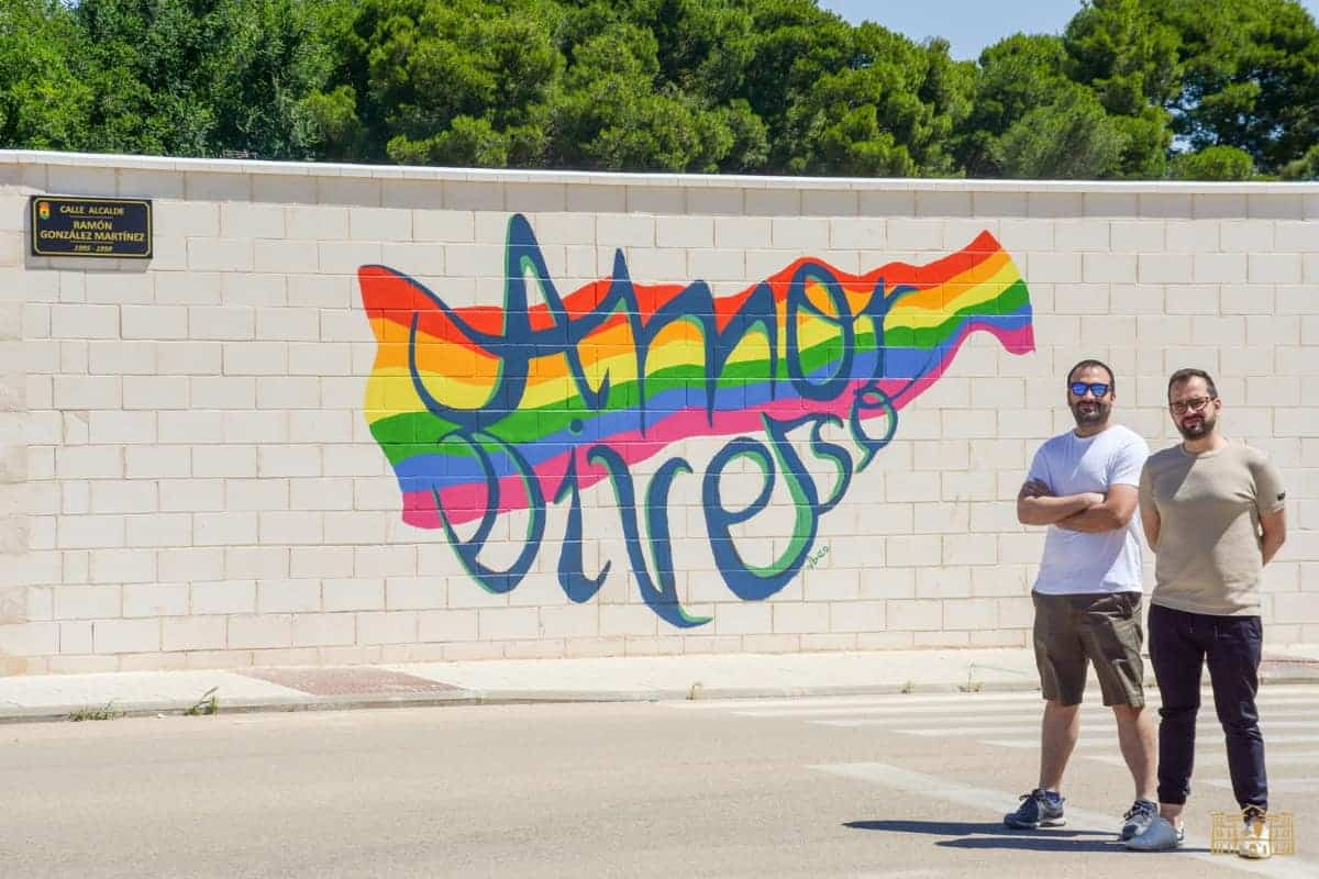 mural reivindica diversidad en tomelloso ciudad real