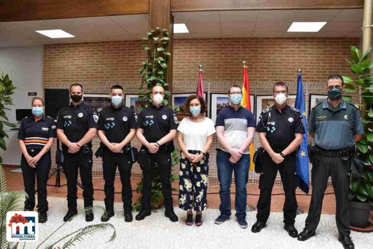 nuevos agentes policia local miguelturra