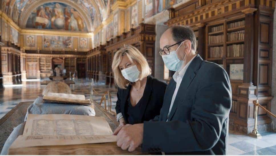 Patrimonio Nacional empezó con la celebración del 800 aniversario del nacimiento de Alfonso X con la publicación en Internet de las Cantigas de Santa María que conserva en El Escorial 1