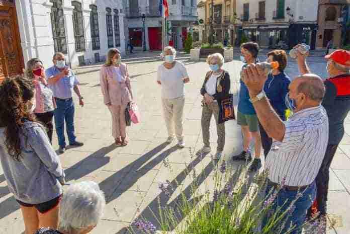 senderismo urbano y mantenimiento fisico para mayores de tomelloso