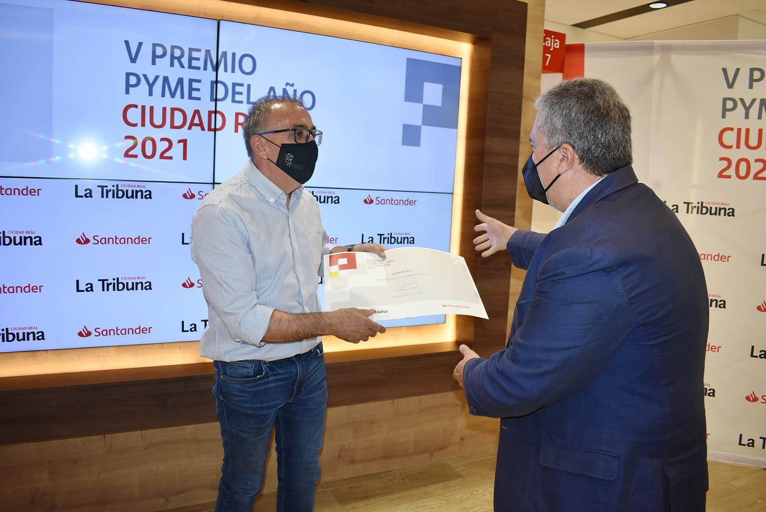 V Premio Pyme del año Ciudad Real 2021