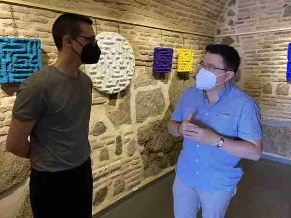 Visita exposición David Vimar (4)