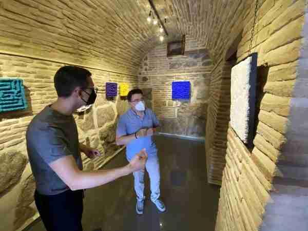 Visita exposición David Vimar (1)