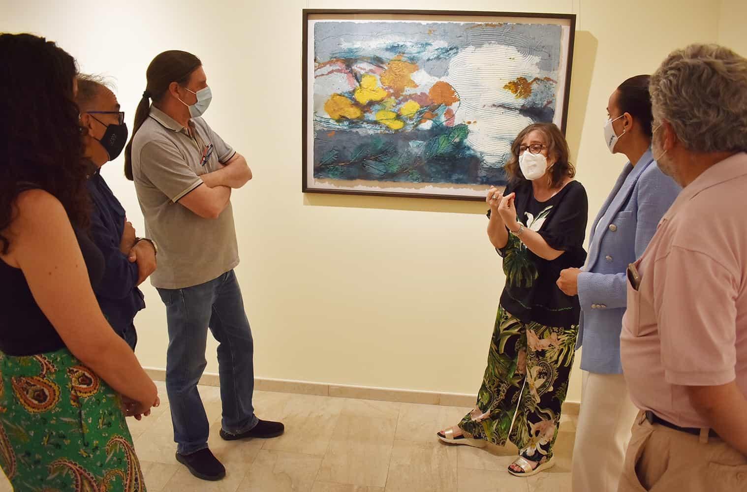 La exposición de Gema Climent con una novedosa técnica en PVC llega al Museo Elisa Cendrero 5