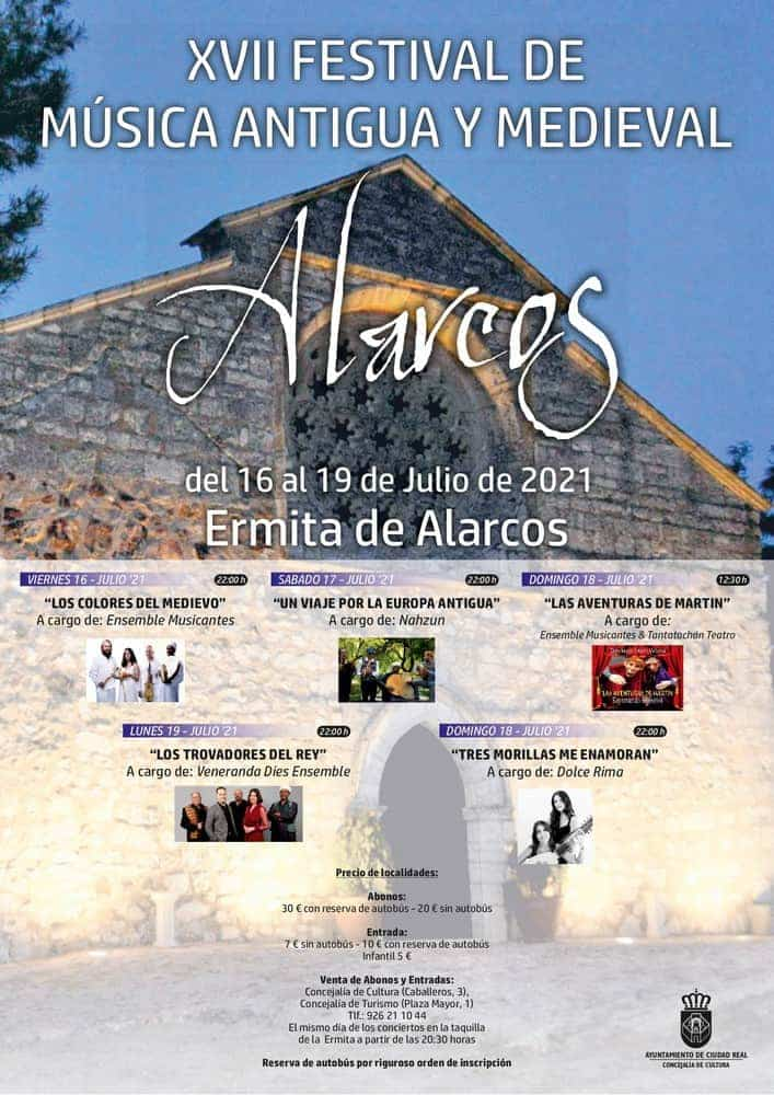 Festival de música antigua y medieval en Alarcos