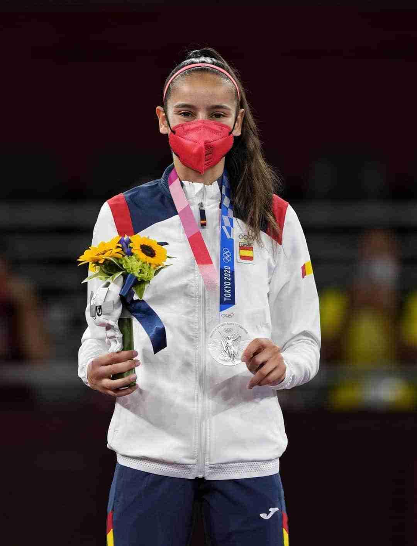 Adriana Cerezo, 17 años, medalla de plata en Taekwondo en Tokio 2020 3