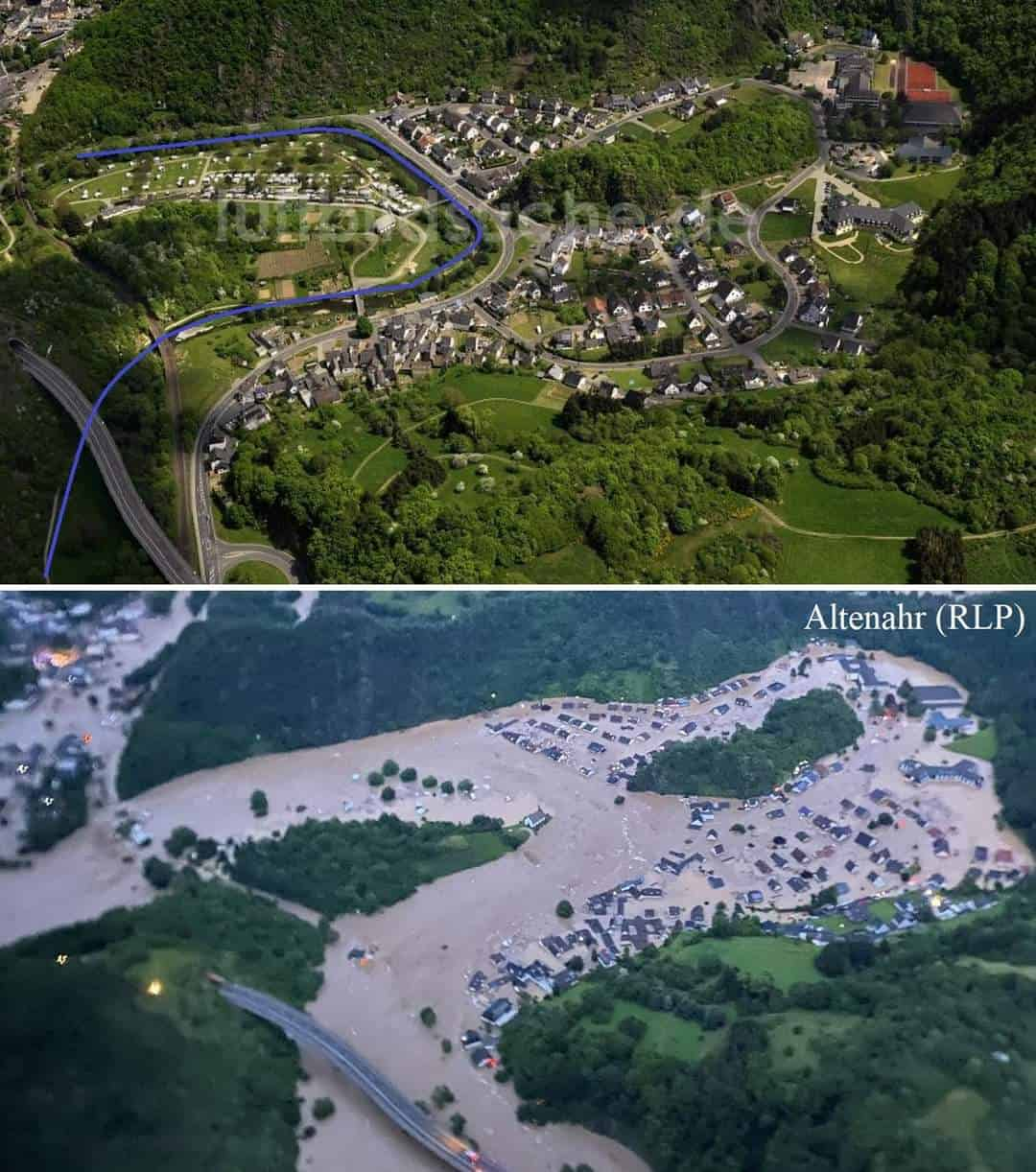 Cada 100 años el valle del Ahr en Alemania sufre una DANA como la de 2021 8