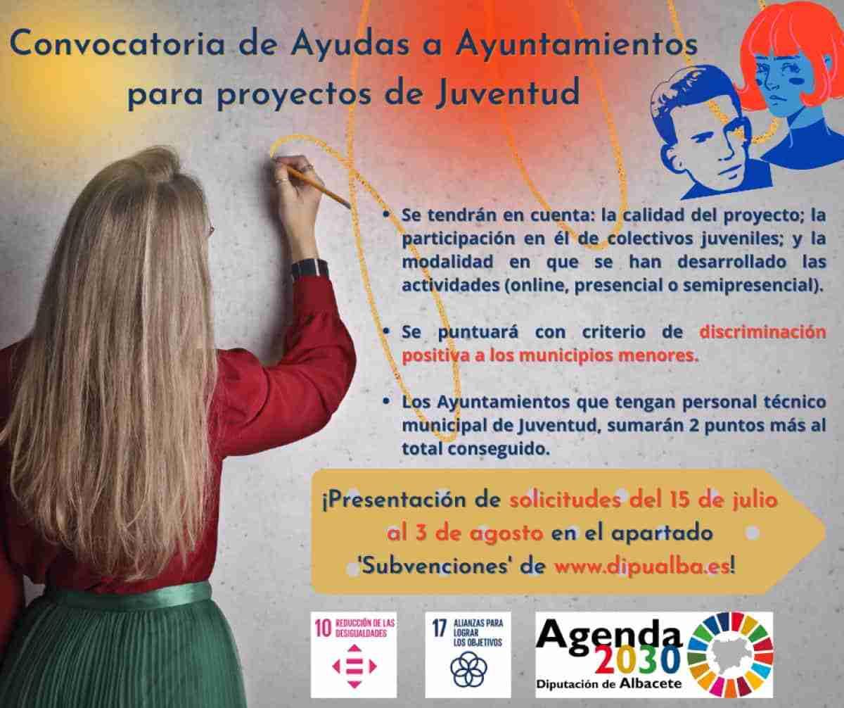 ayudas ayuntamientos albacete proyectos juveniles