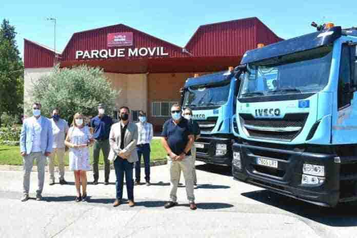 camiones recogida papel carton en albacete