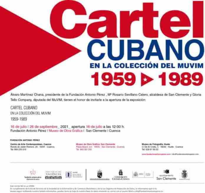 cartel cubano exposicion san clemente cuenca