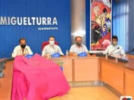 festejo taurino en el auditorio multifuncional de miguelturra