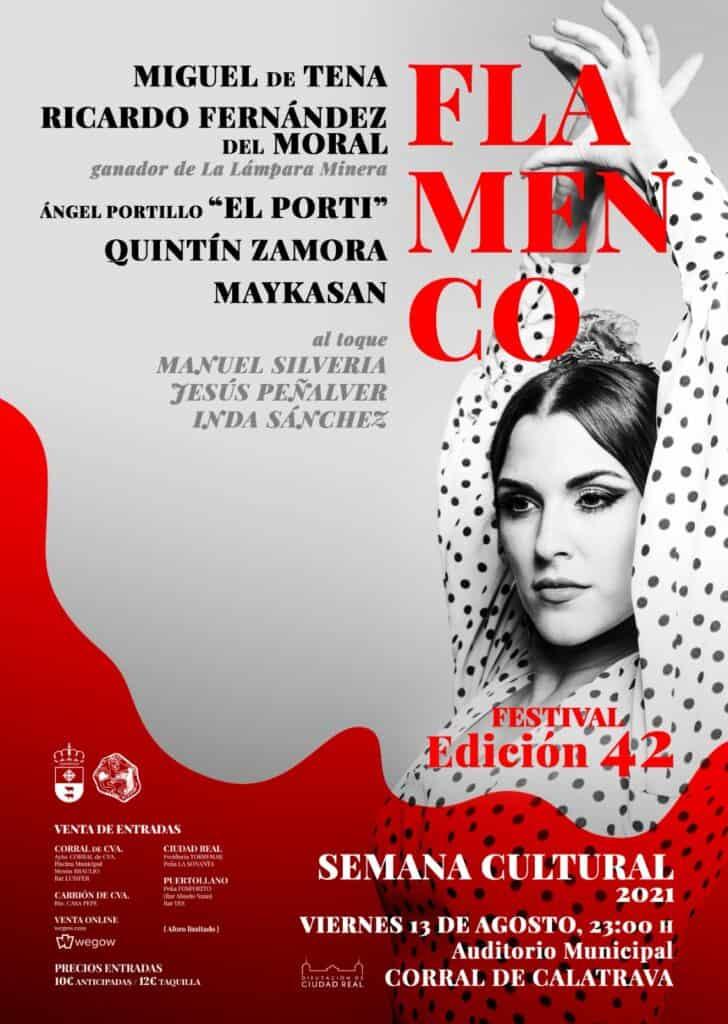 Festival Flamenco de Corral de Calatrava el 13 de agosto en su 42 Semana Cultural 1