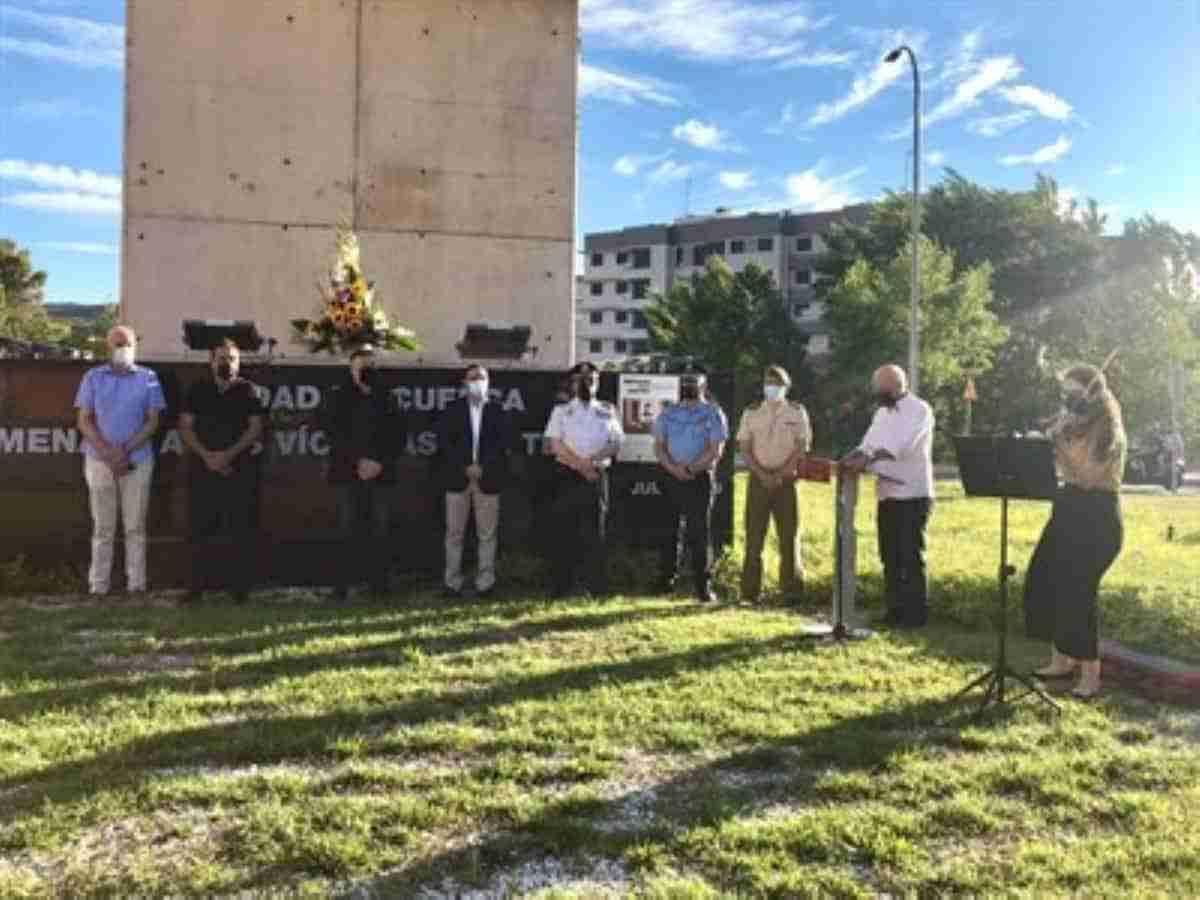 homenaje a las victimas del terrorismo en cuenca
