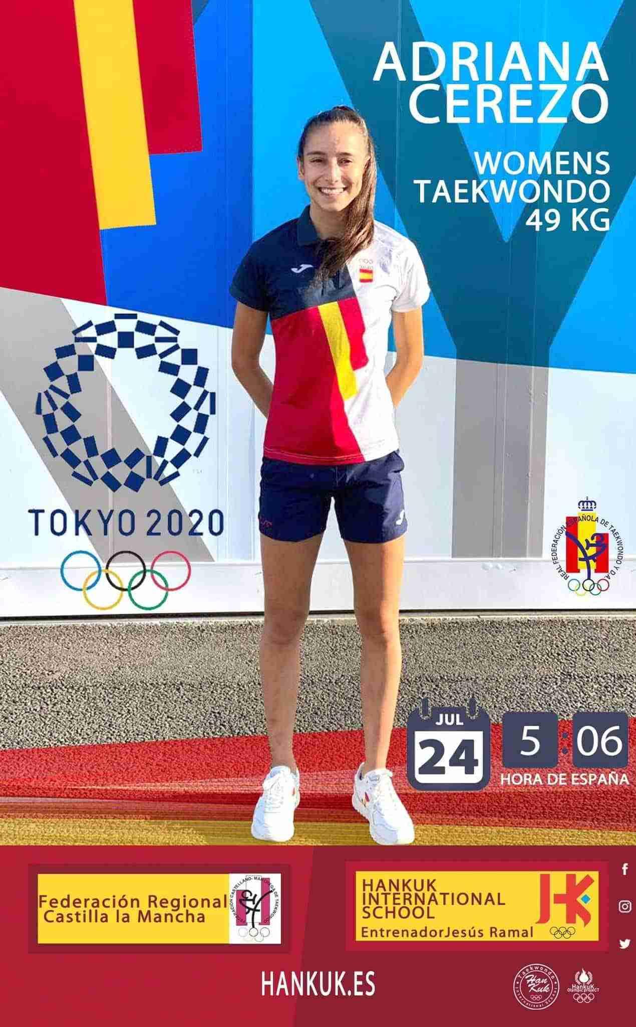 Adriana Cerezo se asegura la medalla olímpica en Taekwondo en Tokyo 2020 9