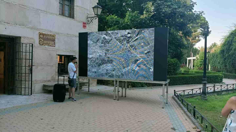 Herencia realizó una visita teatralizada de la inauguración de su Parque Municipal 16