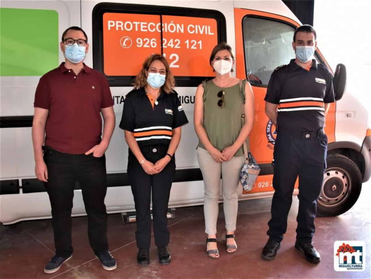 nuevo equipo telecomunicaciones voluntarios proteccion civil miguelturra