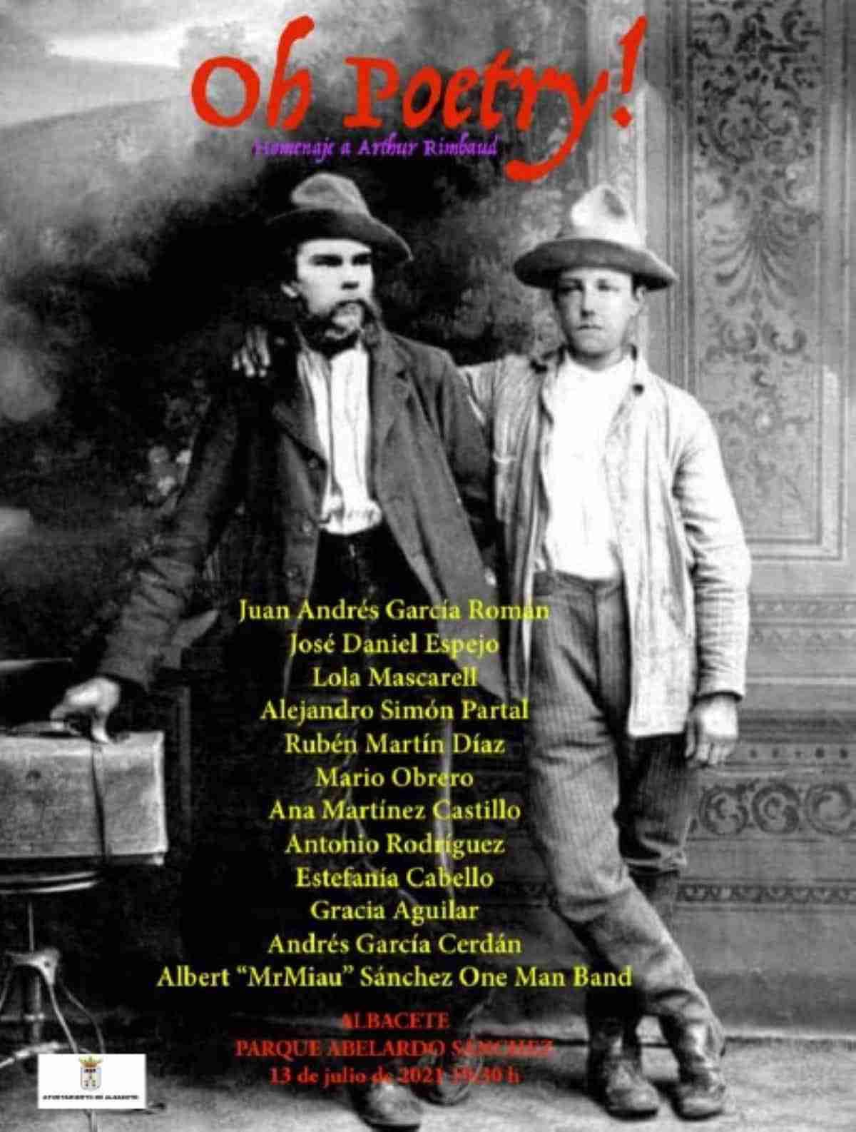 oh poetry homenaje arthur rimbaud albacete