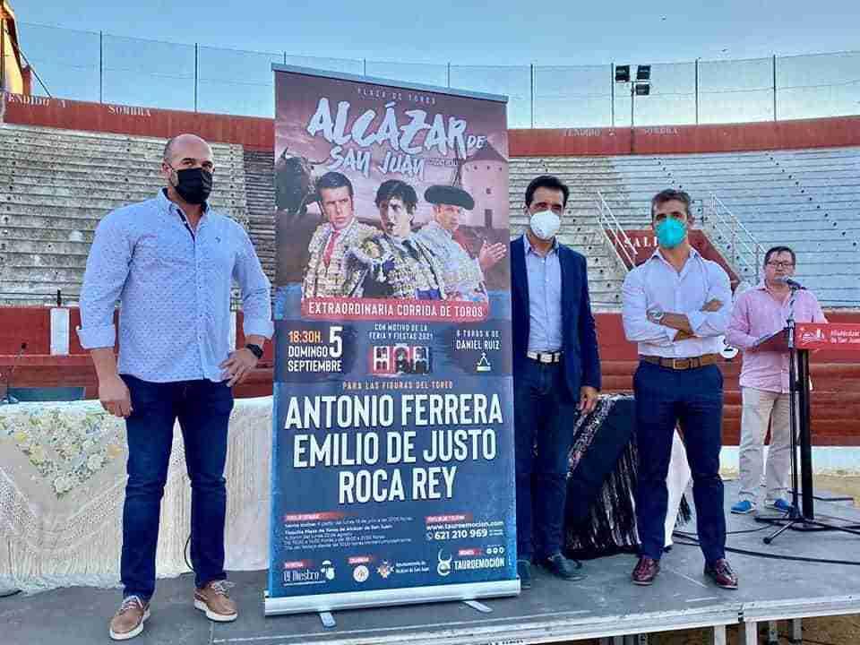Presentanda la extraordinaria corrida de toros en Alcázar de San Juan 3