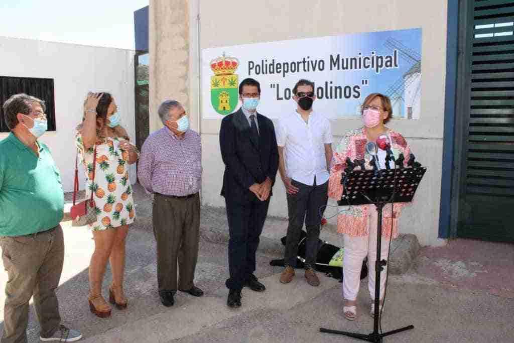 Olmedo inauguró la reforma en las instalaciones deportivas de Santa Cruz de los Cáñamos sufragada por el Gobierno regional 6