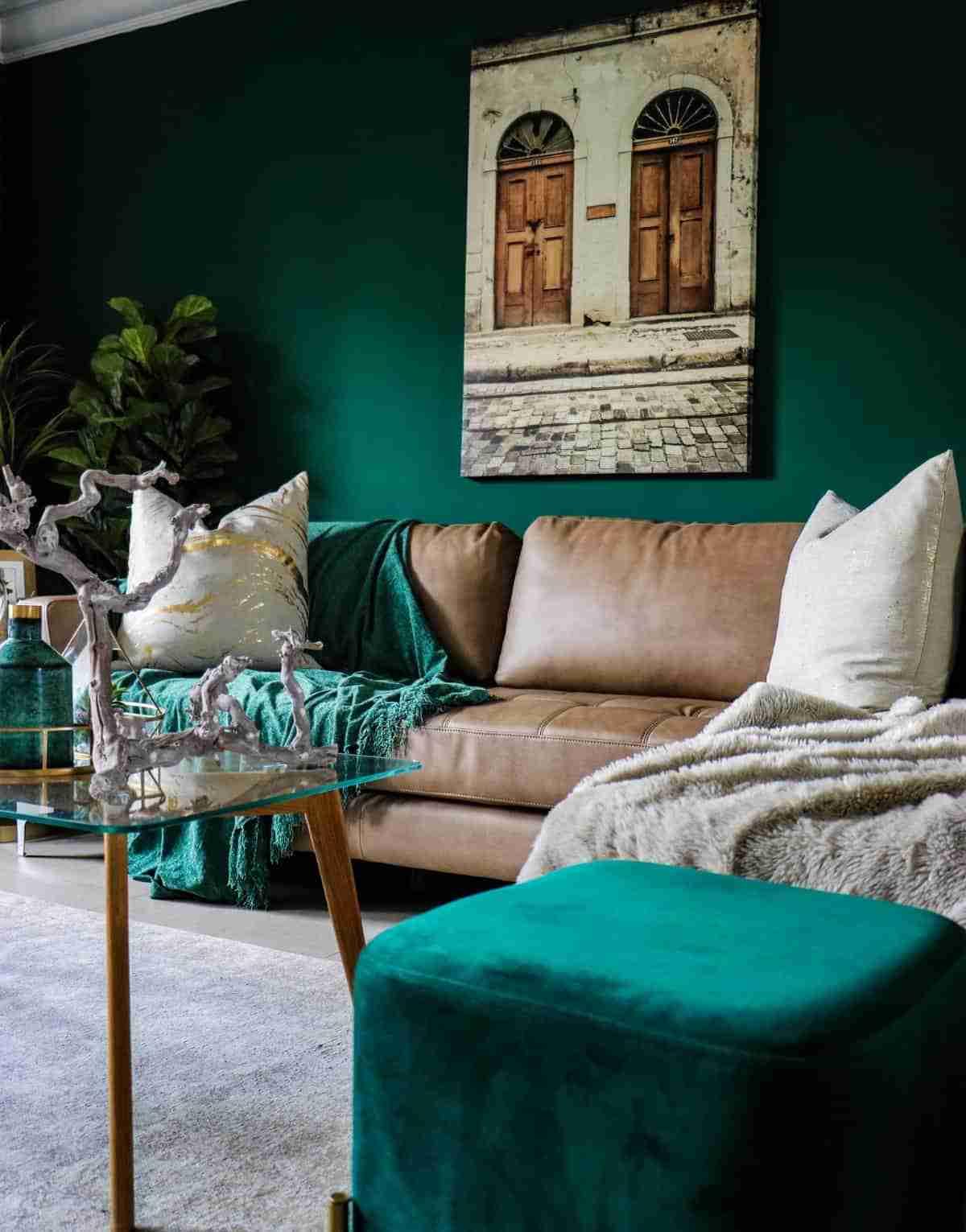 ventajas tonalidades del verde oscuro
