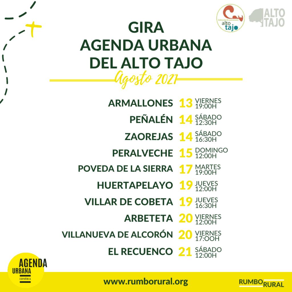 "RumboRural anunció el comienzo de la ""Gira Agenda Urbana del Alto Tajo"" 1"