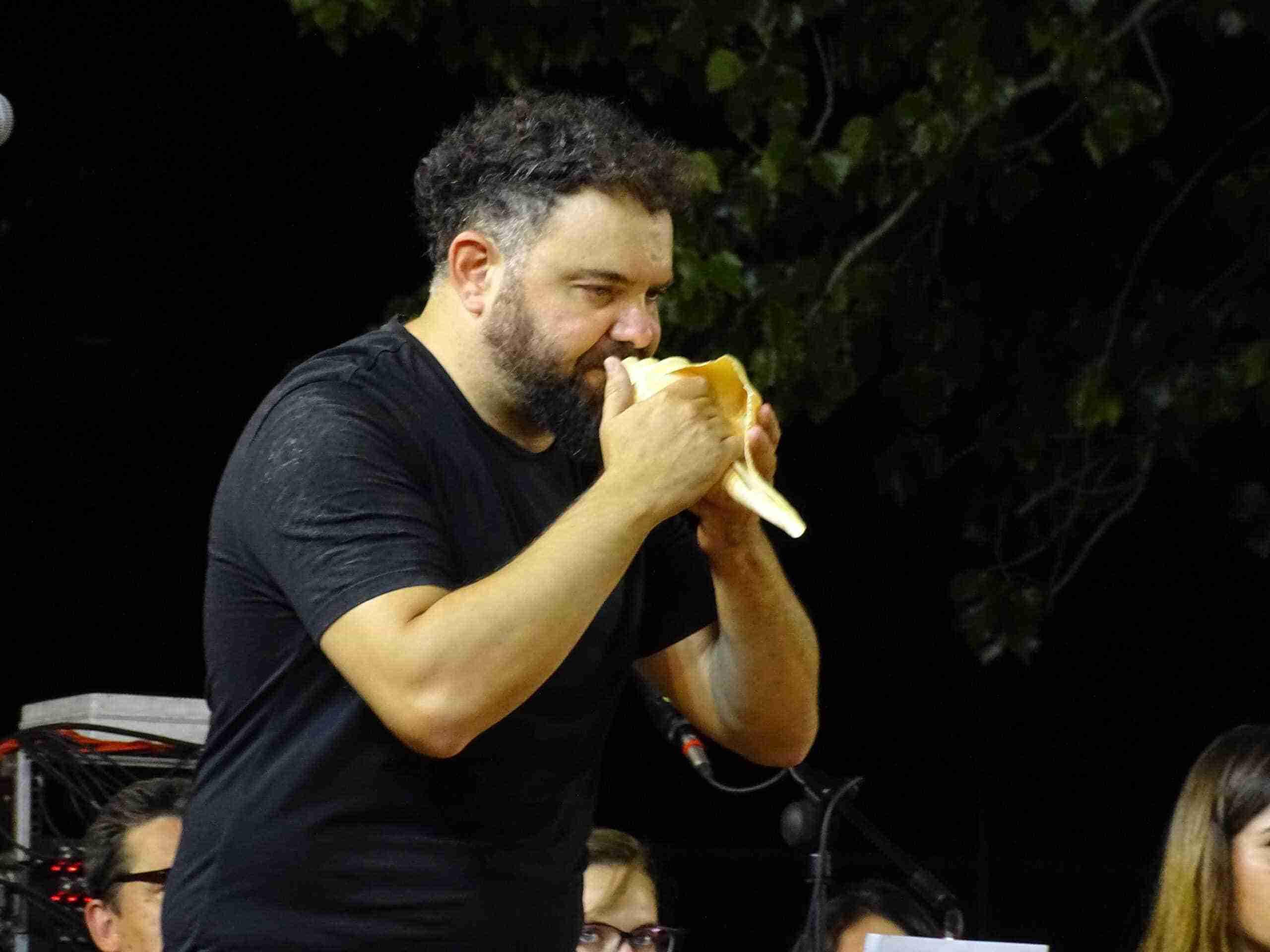 Magistral concierto de la Banda Sinfónica Municipal y el multiinstrumentista Abraham Cupeiro para cerrar el Festival de Musica 12